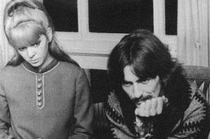 Maureen and George in India, Februrary 1968