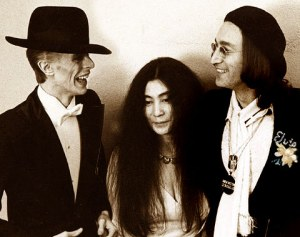 Los Angeles, 1975: Bowie, Ono, Lennon