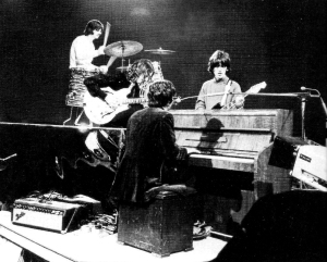 "Rehearsing ""Hey Jude,"" September 1968."