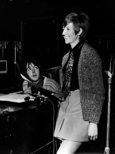 Paul, his ubiquitous sweater and Cilla